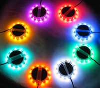 All colors Radiantz LED wheel lights