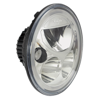 "Vortex 7"" round LED headlight include free pair of halo turn signals"