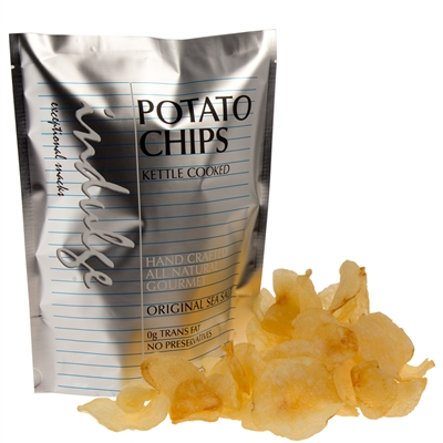 Kettle Cooked Potato Chips with Sea Salt 3.0 oz.