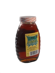 RAW WILDFLOWER HONEY 32 OZ GLASS JAR