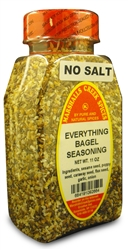 EVERYTHING BAGEL NO SALT WITH OMEGA 3 FLAX SEEDⓀ
