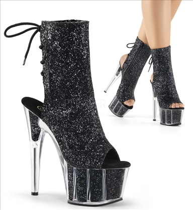 Pleaser Strappy 7 Inch Heels