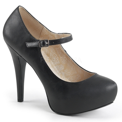 extended size mary jane pump