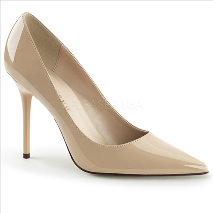 nude color business shoes