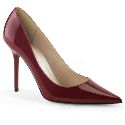 women's raspberry patent shoes