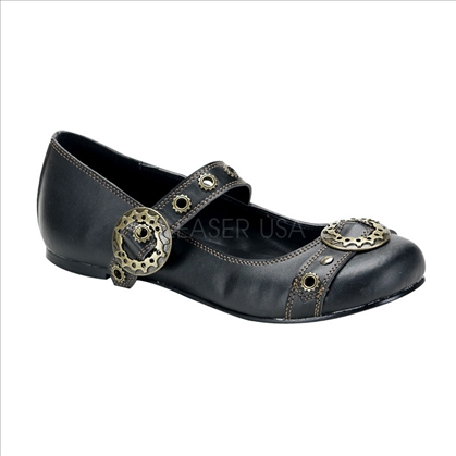 steampunk flat mary jane shoes