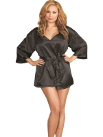 VAVOOM Lingerie | Satin Robe And Nightgown