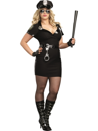 Bad Girl Cop Costume