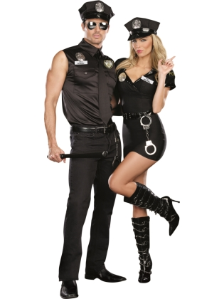 Bad Guy Cop Costume