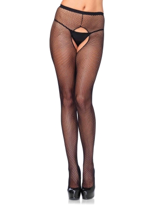 Stockings Crotchless Fishnet  Pantyhose