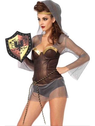Costume Accessories Studded Shield