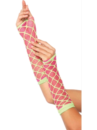 Costume Accessories Duel Net Arm Warmer