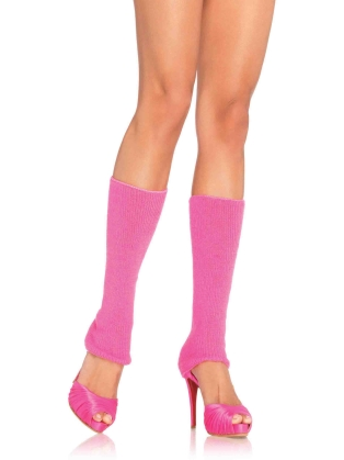 Stockings Ribbed Leg Warmers