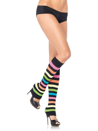 Stockings Multicolor Leg Warmers
