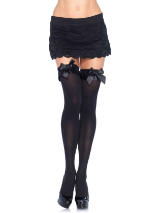 Stockings Opaque Thigh Highs