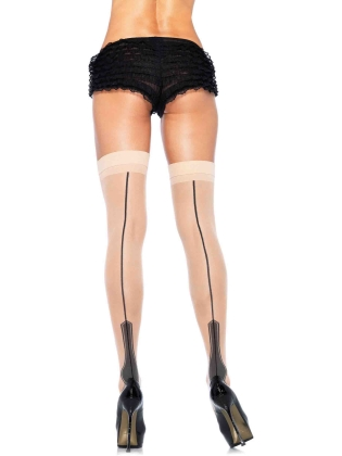 Stockings Havana Heel Backseam Stockings