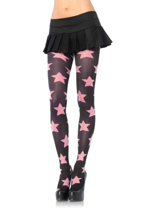 Stockings Star Opaque Tights