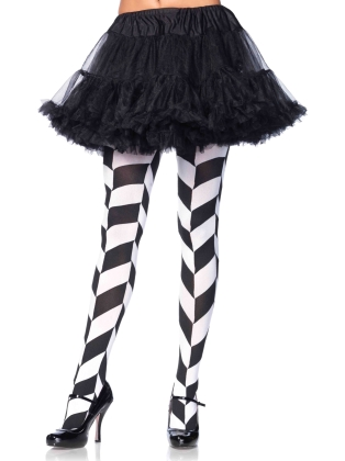 Stockings Chevron illusion opaque tights