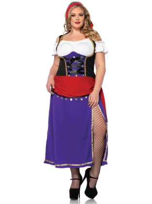 Costumes Traveling Gypsy Plus Size