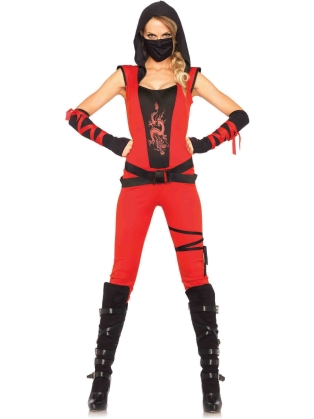 Costumes Ninja Assassin Catsuit