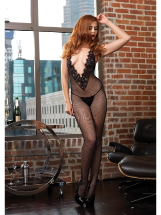 Stockings Chantilly Lace Bodystocking