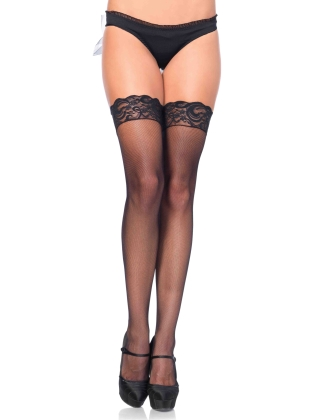 Stockings Stay Up Lace Top Thigh Highs