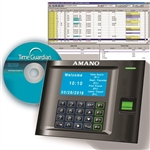 Amano Time Guardian MTX30 Biometric Fingerprint System