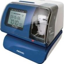 Amano PIX-200 Atomic Time Clock