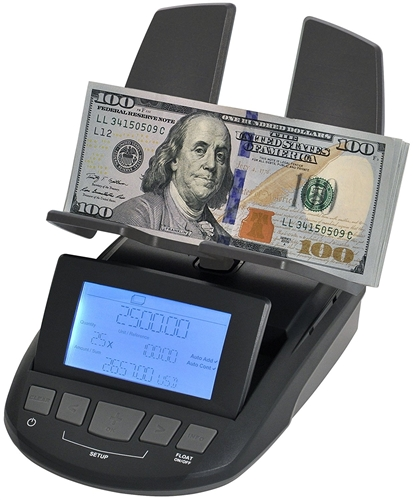 Cassida Tilltally Weight Based Bill And Coin Counter