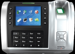 FingerTec TA200 PLUS Biometric / RFID Time & Attendance System