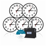 Wireless Analog Clocks 'Clocks in a Box' Bundle