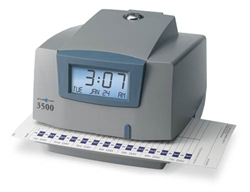 Pyramid 3500 Time Clock/Date Stamp