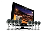 SVAT 19' All-In-One Security System with 8 Indoor/Outdoor High Resolution Cameras