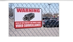 SVAT ' Warning Video Surveillance' Sign
