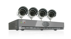 SVAT Smartphone Compatible, Web Ready DVR System with Coaching Menu, 4 Channels and 4 Cameras