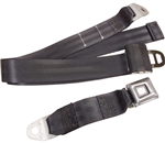 RBSB-72-BLACK : RETRACTABLE SEAT BELT 72 Inches