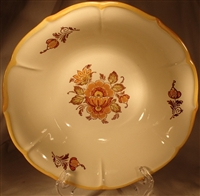 Medium Round Vegetable Bowl #150 Golden Garden