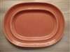 Medium Oval Platter-Metlox Colorstax Apricot