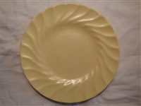 Bread & Butter Plate-Pastel Yellow #503py-Satin Glaze-Metlox Yorkshire