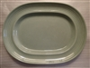 Medium Oval Platter-Metlox Colorstax Jade