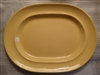 Large Oval Platter-Metlox Colorstax Yellow