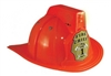 Red Firefighter Helmet With Light And Sound