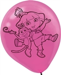 Dora's Flower Adventure 12 inch Latex Balloons