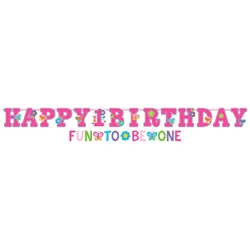 Sweet Birthday Girl Jumbo Banner Kit
