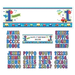 All Aboard Boy Personalized Giant Sign Banner