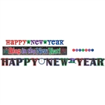 Happy New Year MultiColor Banner Multi Pack
