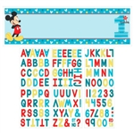 Mickey's Fun to Be One Personalized Giant Banner