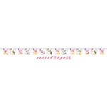 Beauty and the Beast Ribbon Letter Banner