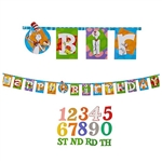 Dr. Seuss Jumbo Add An Age Letter Banner