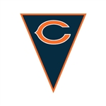 Chicago Bears Pennant Banner